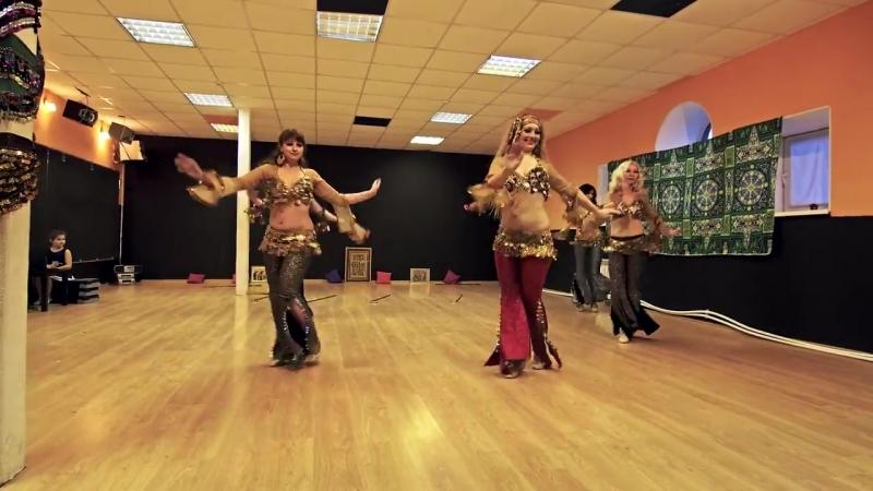 шоу-номер Саиди - табла. Школа восточного танца Скарабей