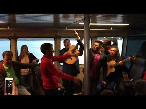 El portero alevín del Sevilla, bailando en LaLiga Promises