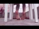 Teen girl show soles