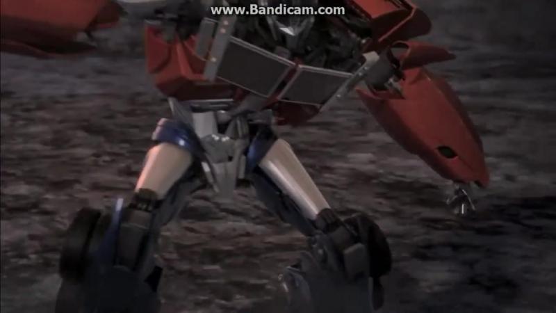 Optimes Prime Две битвы из Трансформеров Прайм Оптимус Прайм VS Мегатрон