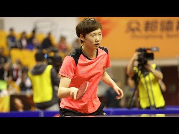 Wang Manyu vs Liu Fei | Full Match | Chinese Warm-up for WTTTC 2018