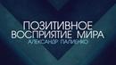Позитивное восприятие мира Александр Палиенко