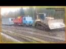 Tatra 815 Татра помощь бульдозера