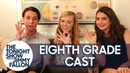 The Cast of Eighth Grade Plays the Box of Firsts Challenge