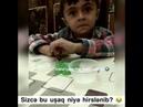 Agresiv Halda Şeir Deyen Balaca Gozel Mehriban ANA