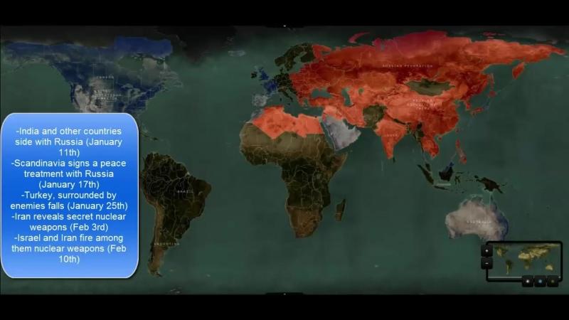 NATO VS RUSSIA War Simulation