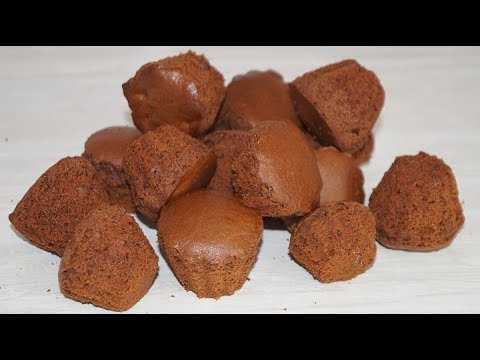 КЕКСЫ-шоколадные,простой рецепт.
