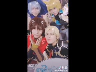 The king's avatar ccg expo2018 coser