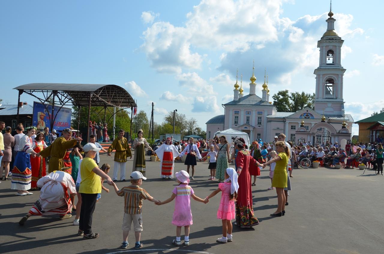 В Кимрах состоялся IV межрегиональный фестиваль «Мы славяне»