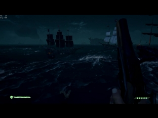 Sea of thieves. Охота на мегалодона. 3 галеона и 2 шлюпа