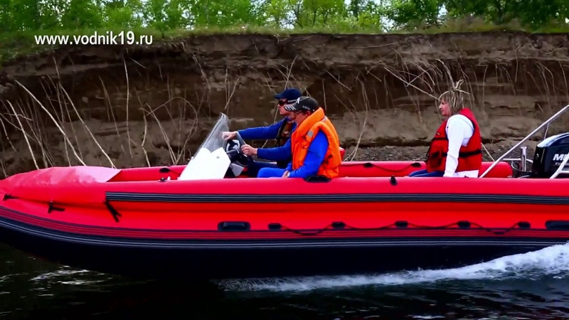 Фрегат 550 Mercury 40 Jet водомет │тюнинг лодок пвх