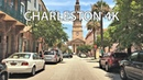 Driving Downtown - Charleston 4K - South Carolina USA