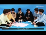180518 BTS Plays With Puppies While Answering Fan Questions @ BuzzFeed Celeb