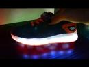Новые светящиеся кроссовки на 22 см по стельке