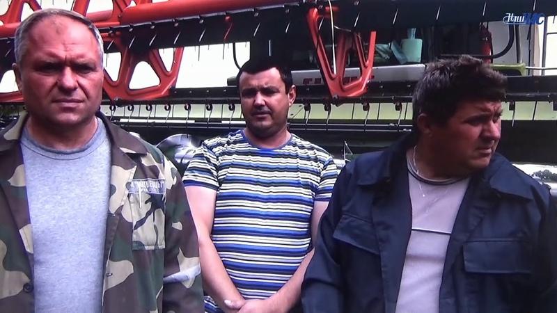 Первые тысячники по уборке урожая-2018 в Волковысском районе