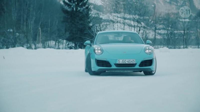 Porsche 911 - Зимний вальс