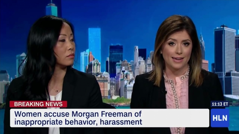 Morgan Freeman's accuser...... but listen to this