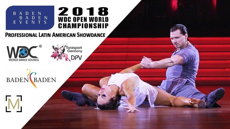 Tagintsev - Krysanova, RUS | 2018 WDC Pro WCH SD LAT - Baden Baden, GER - SF