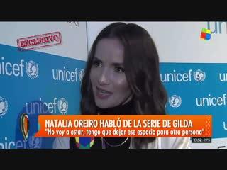 Natalia Oreiro - Interview - Gala de Unicef - 30/10/2018