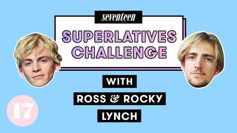 Ross Rocky Lynch Play the Ultimate Superlative Challenge | Seventeen
