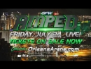 Global Force Wrestling Amped is coming to the Orleans Arena, LIVE!, July 24