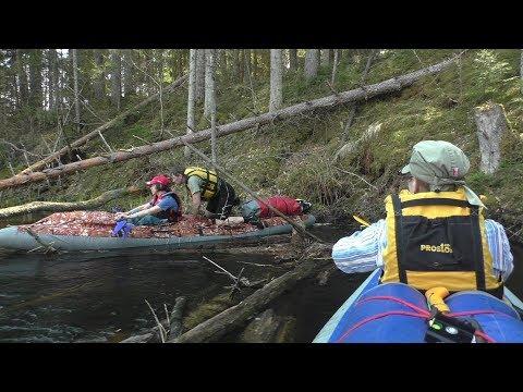 Поход на байдарках по рр.Алоль-Великая 29 апреля-4 мая 2018