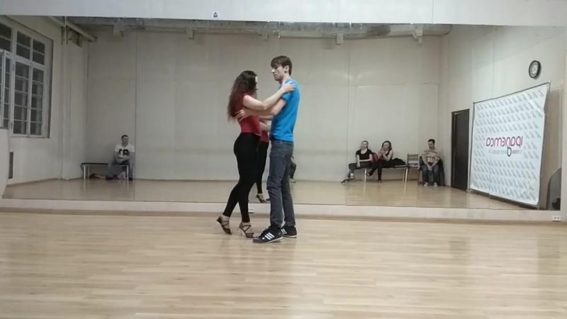 Анна Вит и Андрей Коротаев | Anna Vit Andrey Korotaev | Ipanema Dance Studio. Demo after class.