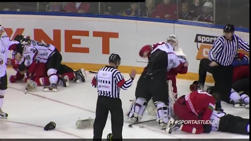 Беларусь - Латвия (заварушка)