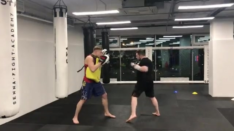 Тайский бокс. Тренер - Алексей Сумцов.