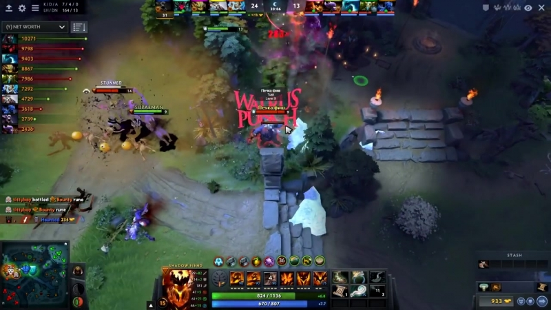 Different Heroes with Same Build! Miracle Sand King vs Resolution Shadow Fiend -