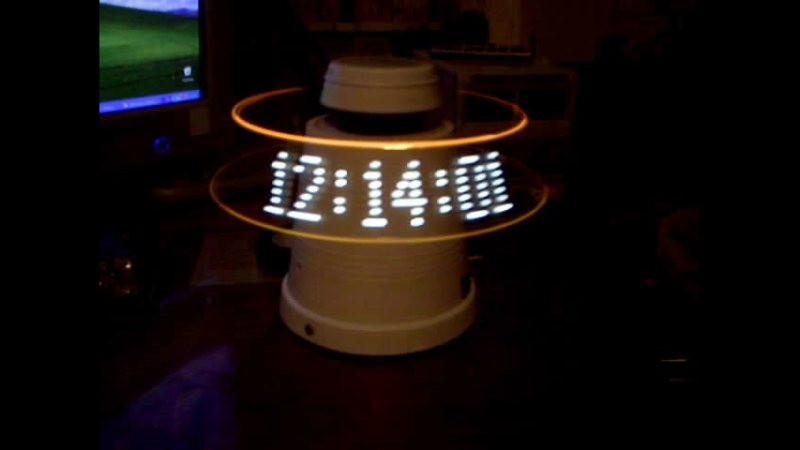 Propeller clock 7