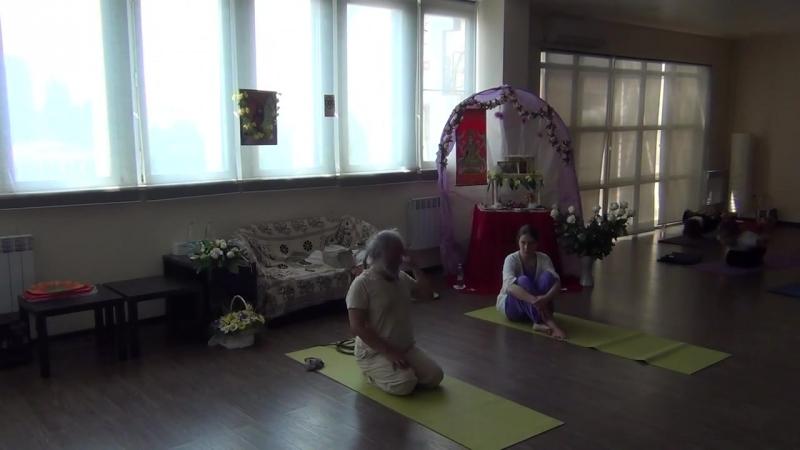 Дэв Дас Махарадж , Волгодонск 2015, Практика Анахата, часть 2.