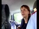 Пьяная автоледи разговор с сотрудниками ГИБДД