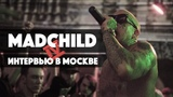 Interview with Madchild in Moscow for HipHop4Real: про Swollen Members; Oxxxymirona; Max13; наркозависмость