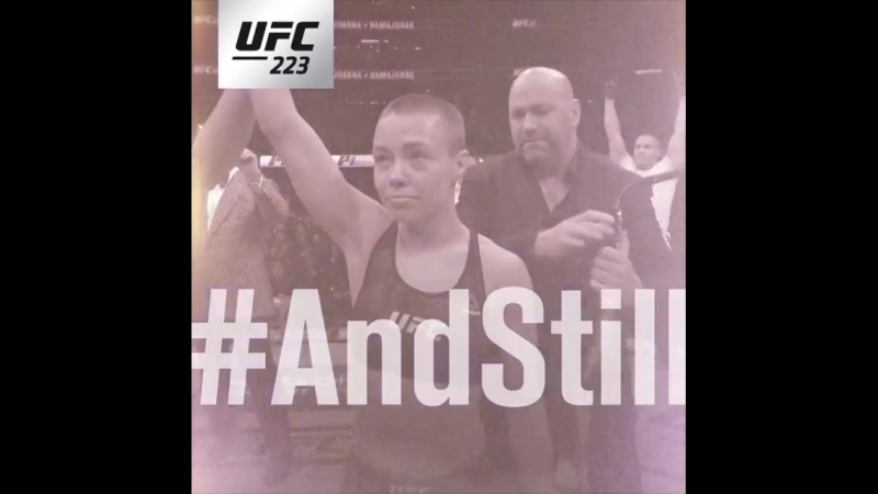 And Still Rose Namajunas