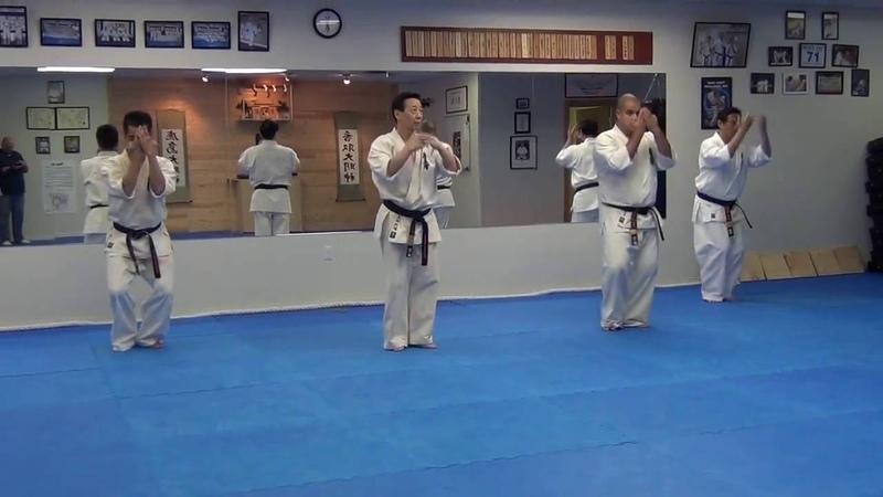 Sushiho Kata, Oishi Daigo Hanshi at Seikai So-Kyokushin Canada Honbu Dojo