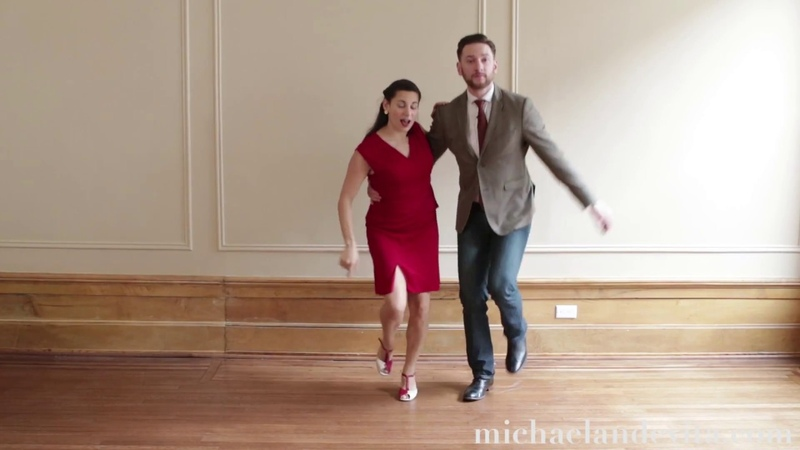 Lindy Hop Lesson : Jig Walks