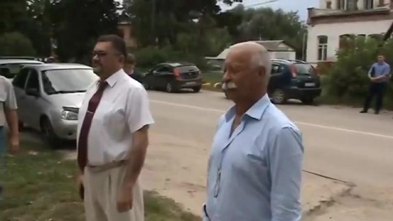 Леонид Якубович в Старожилово (2017)