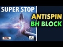 Block test of SauerTroeger SUPER STOP 1.9 mm antispin on Off- blade Faith