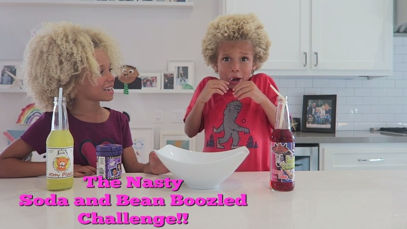 The Nasty Soda and Bean Boozled Challenge