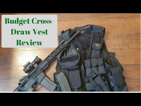 Budget Tactical Vest Review: Taigear TG100B Crossdraw
