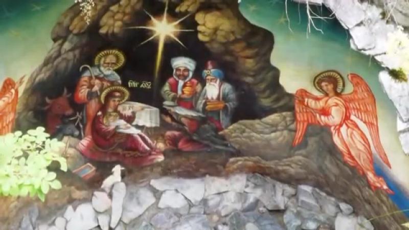 НЫНЕ СОВЕРШИЛОСЬ ЧУДО ИЗ ЧУДЕС!С РОЖДЕСТВОМ ХРИСТОВЫМ! ВАЛЕРИЙ МАЛЫШЕВ