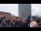 #Chemnitz Chanting We are the people (Wir sind das Volk).