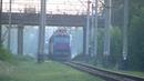 Санитары уже выехали ЧС8-018 с поездом 86 Белый Аист Минск - Киев