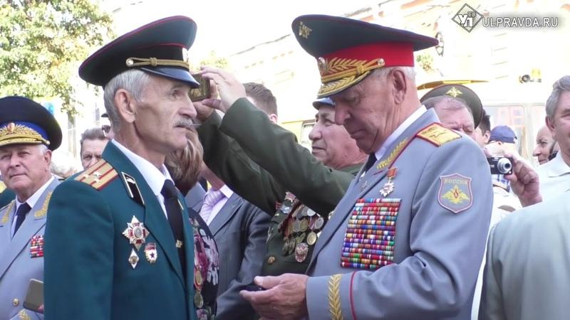 В Ульяновске открыли монумент в честь великих танкистов
