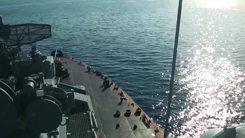 ВМФ РФ: cтрельбы противокорабельными ракетами