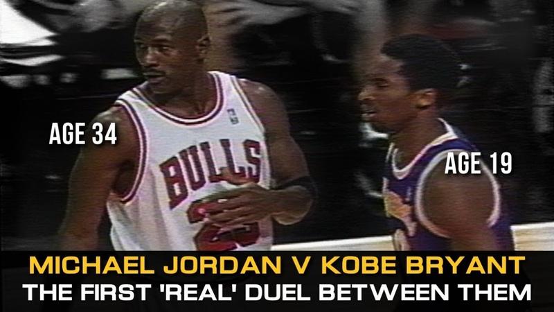 Michael Jordan Vs. Kobe Bryant • The First Real Duel! (Lakers @ Bulls, 1997)