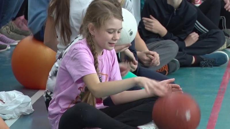 В Багратионе прошли «Веселые старты» для школьников