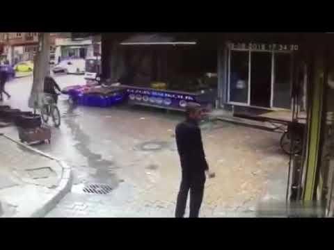 Dünyanın En Tuhaf Bisiklet Kazası 2018