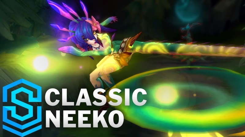 Classic Neeko, the Curious Chameleon - Ability Preview - League of Legends